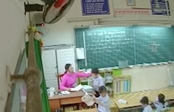Buộc thôi việc giáo viên đánh học sinh