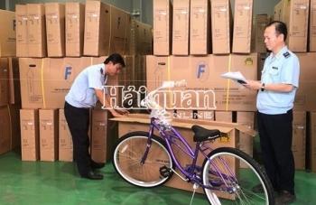 Phát hiện lô hàng xe đạp xuất khẩu giả mạo xuất xứ Việt Nam