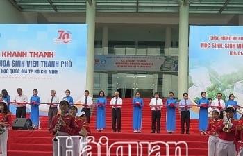 Khánh thành Nhà văn hóa sinh viên TPHCM