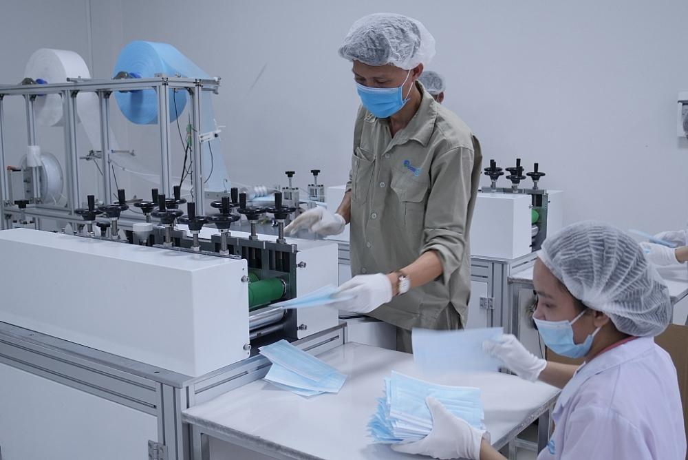Hoạt động sản xuất tại nhà máy
