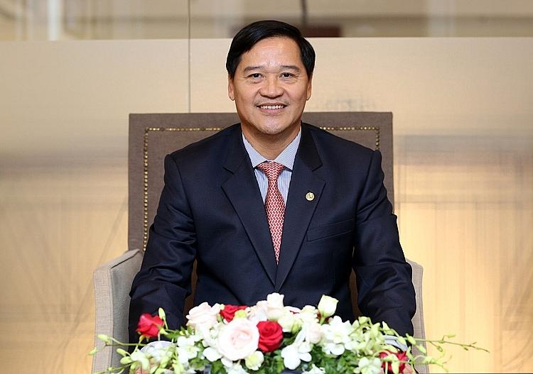 Chủ tịch Hiệp hội Doanh nghiệp TP.HCM (HUBA) Chu Tiến Dũng.