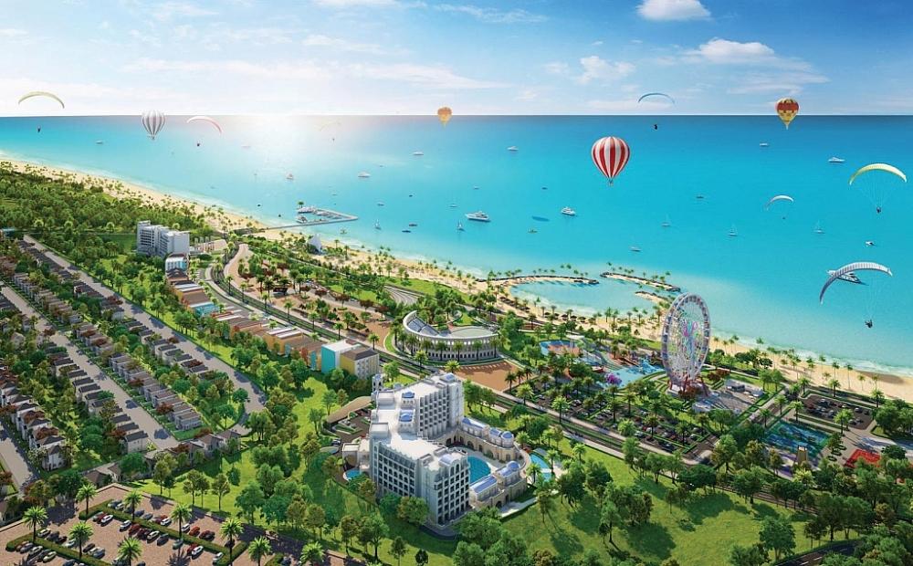 Sức hút lớn từ bất động sản biển Việt Nam. Ảnh S.T