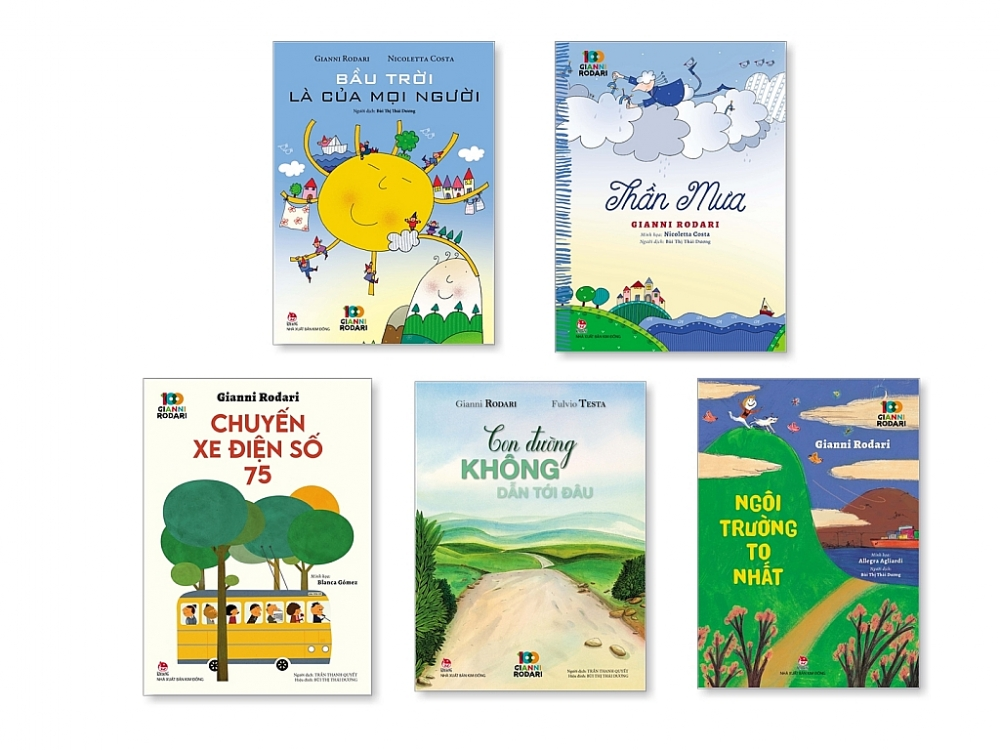 Nhiều hoạt động kỷ niệm 100 năm Ngày sinh nhà văn của thiếu nhi Gianni Rodari