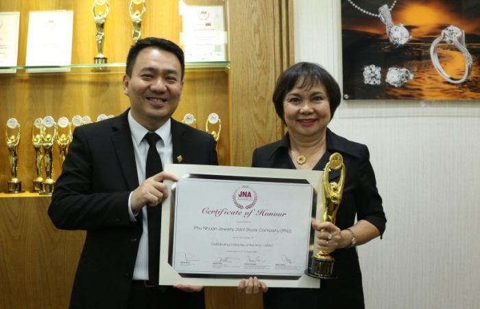 PNJ nhận giải thưởng doanh nghiệp xuất sắc nhất châu Á – Thái Bình Dương
