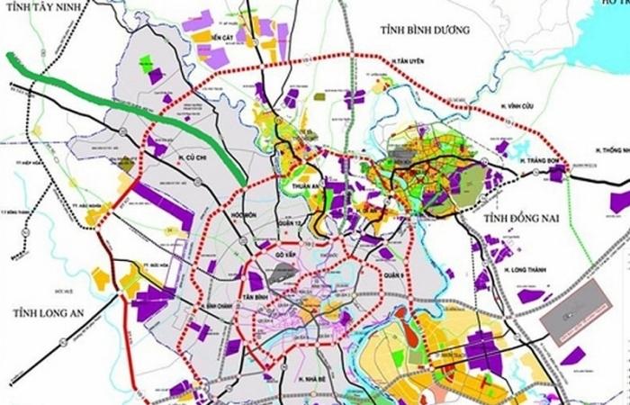 Đề xuất xây dựng đường cao tốc TPHCM - Mộc Bài