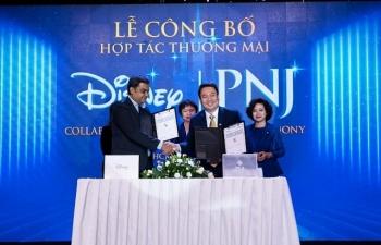 PNJ bắt tay hợp tác với Walt Disney