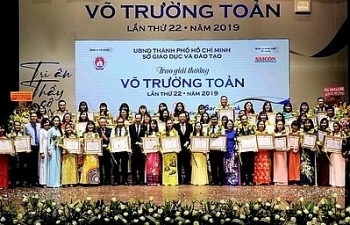 Trao giải thưởng Võ Trường Toản cho 50 nhà giáo tiêu biểu