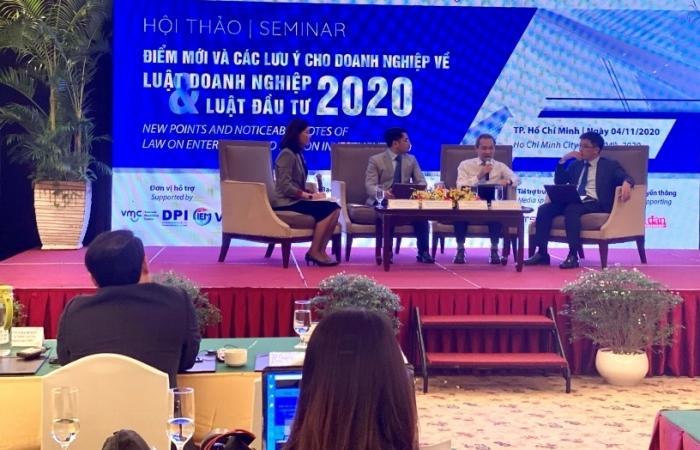 Những điểm mới và các lưu ý về Luật doanh nghiệp và Luật đầu tư 2020