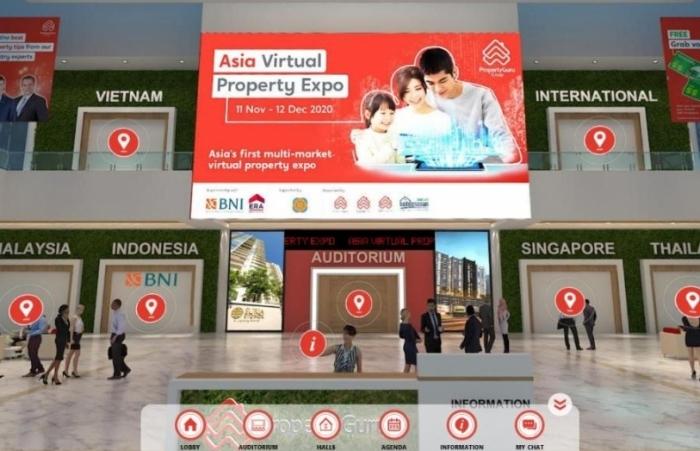 Hơn 300 dự án tham gia triển lãm bất động sản thực tế ảo lớn nhất châu Á