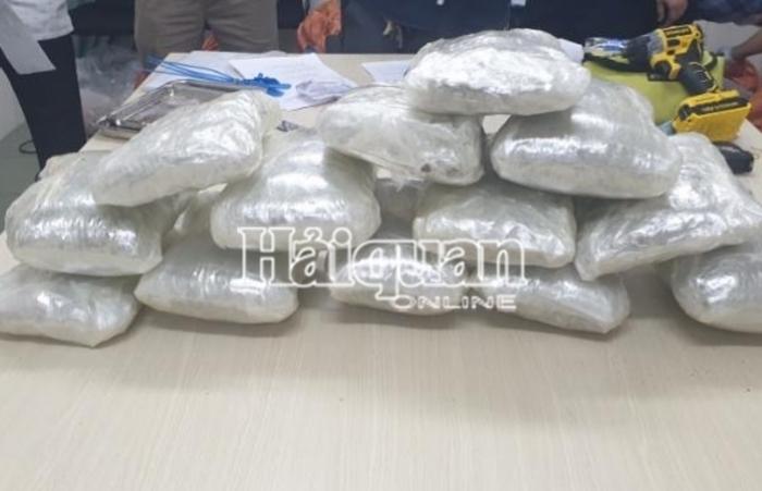 Thu giữ hơn 20 kg ma túy trong các lô hàng quà biếu