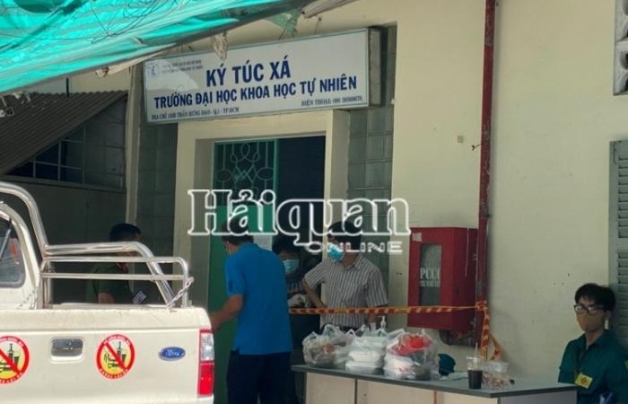 TPHCM: Tạm đóng cửa ký túc xá có sinh viên tiếp xúc gần với ca nhiễm Covid-19