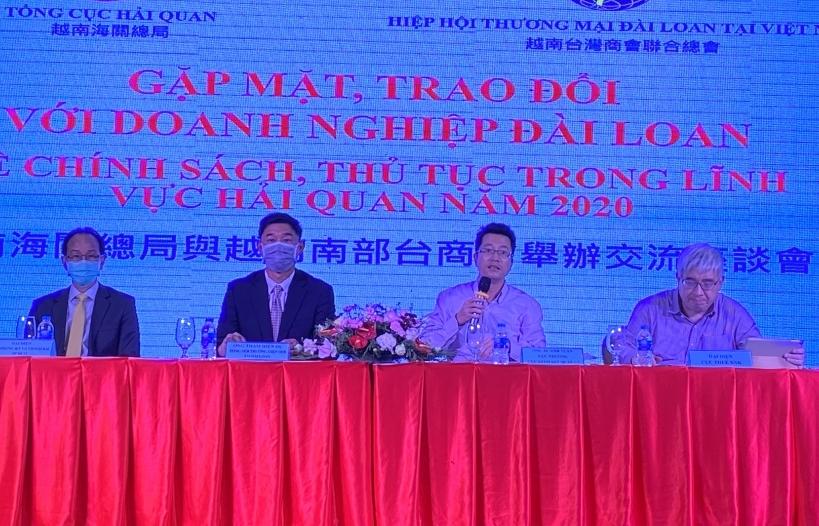Tổng cục Hải quan gỡ nhiều vướng mắc về chính sách thuế cho doanh nghiệp Đài Loan