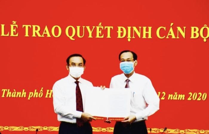 Ông Lê Thanh Liêm được bổ nhiệm giữ chức Trưởng ban Nội chính Thành ủy TPHCM