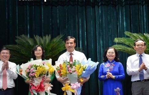 TPHCM có 2 tân Phó chủ tịch