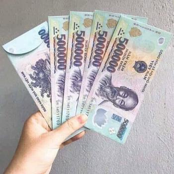 In bao lì xi hình tiền Việt Nam có thể bị phạt lên tới 80 triệu đồng