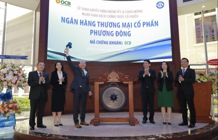 Gần 1,1 tỷ cổ phiếu OCB gia nhập sàn HoSE