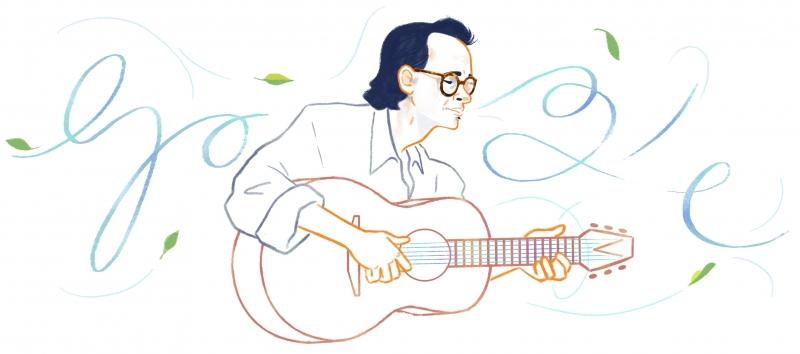 trinh cong son duoc ton vinh tren google doodles