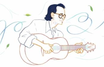 Trịnh Công Sơn được tôn vinh trên Google Doodles