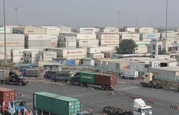 Cuối năm còn gần 2.900 container tồn tại cảng biển