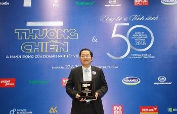 """HDBank ghi """"cú đúp"""" danh hiệu doanh nghiệp hoạt động hiệu quả nhất Việt Nam"""