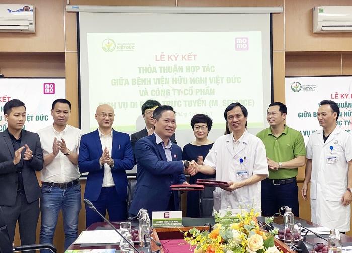 Bệnh viện Hữu Nghị Việt Đức triển khai thanh toán viện phí qua Ví MoMo