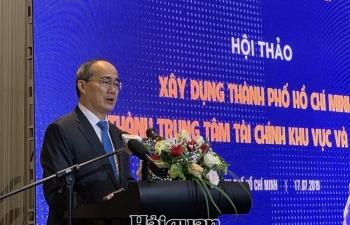 TPHCM quyết tâm vươn lên thành trung tâm tài chính khu vực và quốc tế