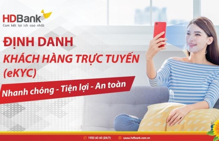 HDBank triển khai giải pháp định danh khách hàng trực tuyến eKYC