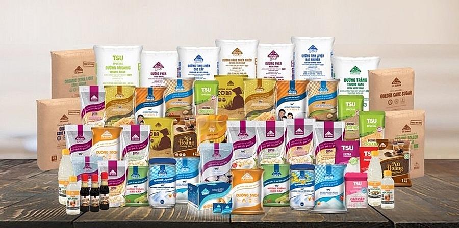 TTC Sugar phát triển được nhiều sản phẩm giá trị gia tăng, đáp ứng nhu cầu của người tiêu dùng. Ảnh: ST