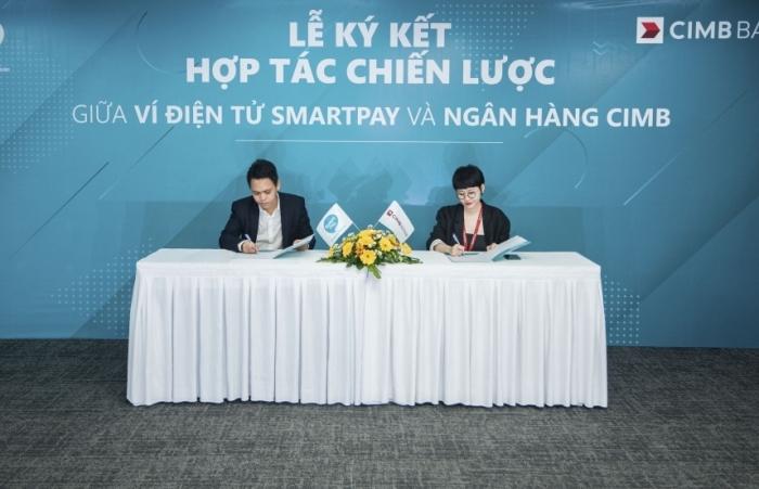 """SmartPay """"bắt tay"""" ngân hàng CIMB mở rộng dịch vụ ngân hàng điện tử"""