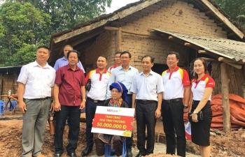 HDBank hỗ trợ xây nhà cho hộ nghèo miền núi Quảng Ninh