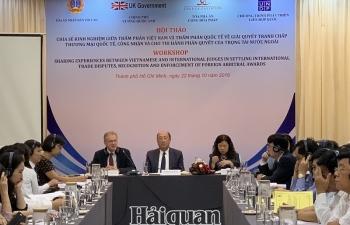 Nâng cao năng lực cho các thẩm phán trong giải quyết các tranh chấp thương mại quốc tế