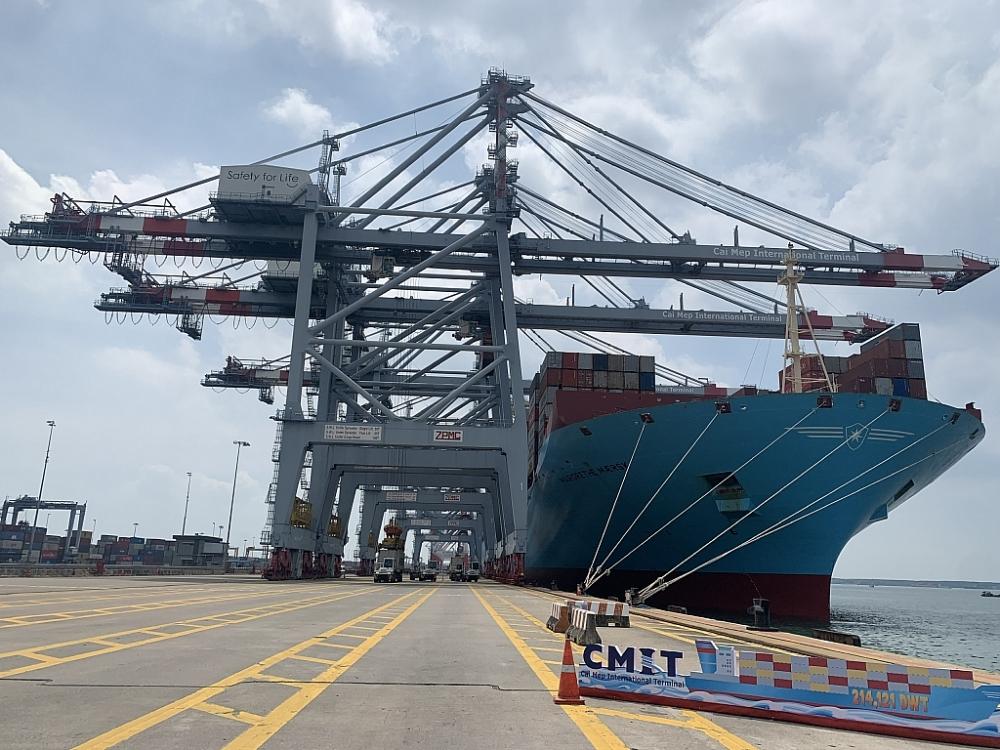 Tàu container Margrethe Maersk là một trong những tàu có tải trọng lớn nhất thế giới