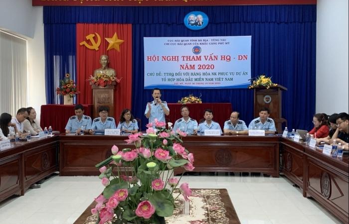 Hải quan Phú Mỹ tạo thuận lợi thực hiện dự án Tổ hợp hóa dầu miền Nam
