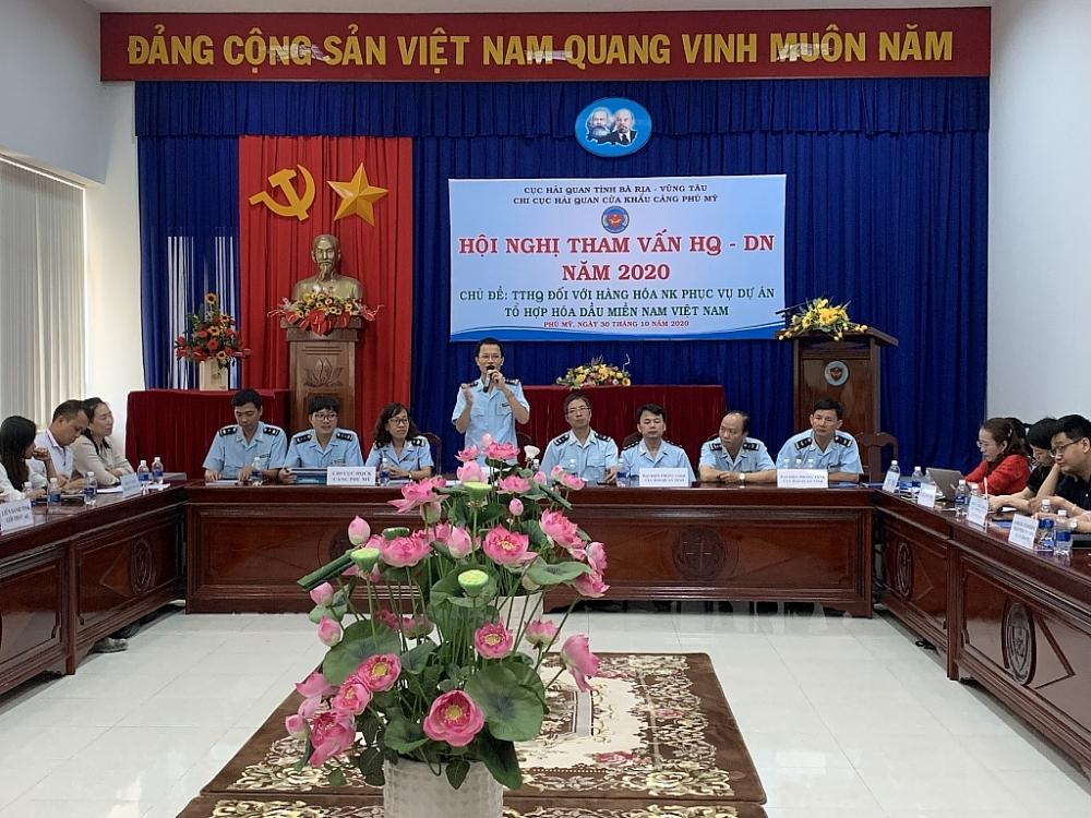 Chi cục trưởng Thái Hoài Nam phát biểu tại hội nghị