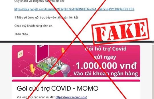 Cảnh báo nhiều chiêu lừa đảo mạo danh ví điện tử, công ty tài chính