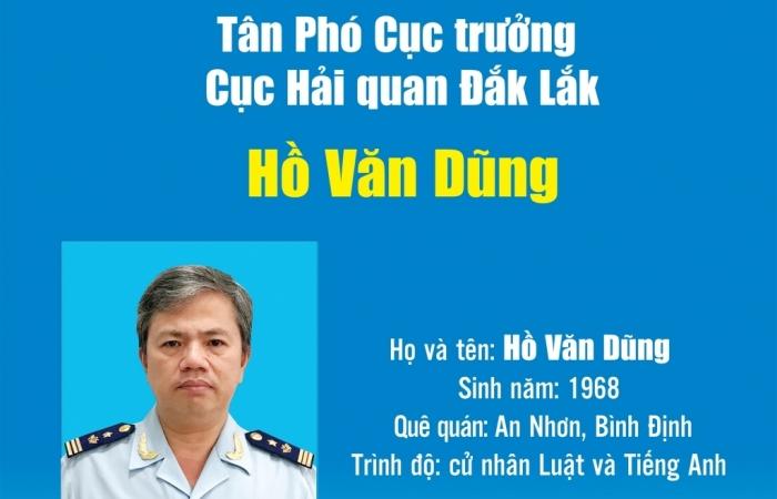 Infographics: Quá trình công tác của tân Phó Cục trưởng Cục Hải quan Đắk Lắk