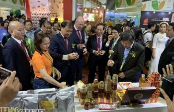 Hàng nghìn mặt hàng nông sản, thực phẩm tiêu biểu tại triển lãm công nghiệp thực phẩm