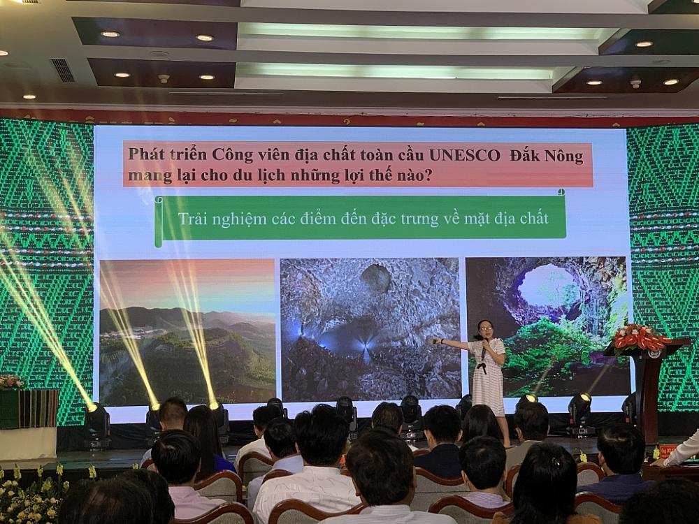 Công viên địa chất toàn cầu Đắk Nông là một đặc sản riêng có của du lịch Đắk Nông. Ảnh: N.H