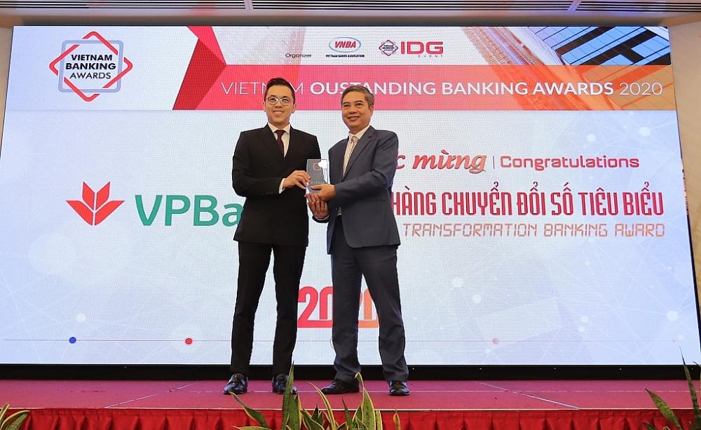 VPBank nhận giải Ngân hàng chuyển đổi số tiêu biểu