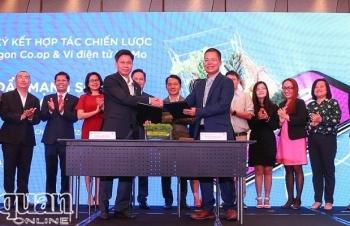 Saigon Co.op bắt tay Ví MoMo đẩy mạnh số hóa toàn hệ thống