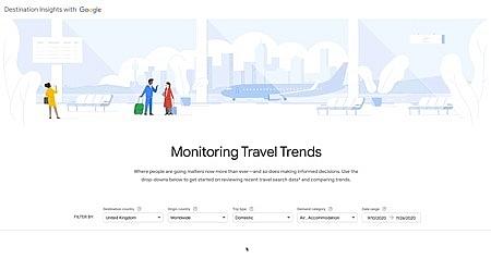 Travel Ínight with Google hướng đến mục tiêu quảng bá và hỗ trợ phục hồi ngành du lịch