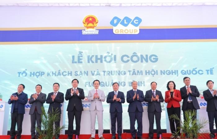 Khởi công Tổ hợp khách sạn 5 sao và Trung tâm Hội nghị Quốc tế tại đại dự án FLC Quảng Bình