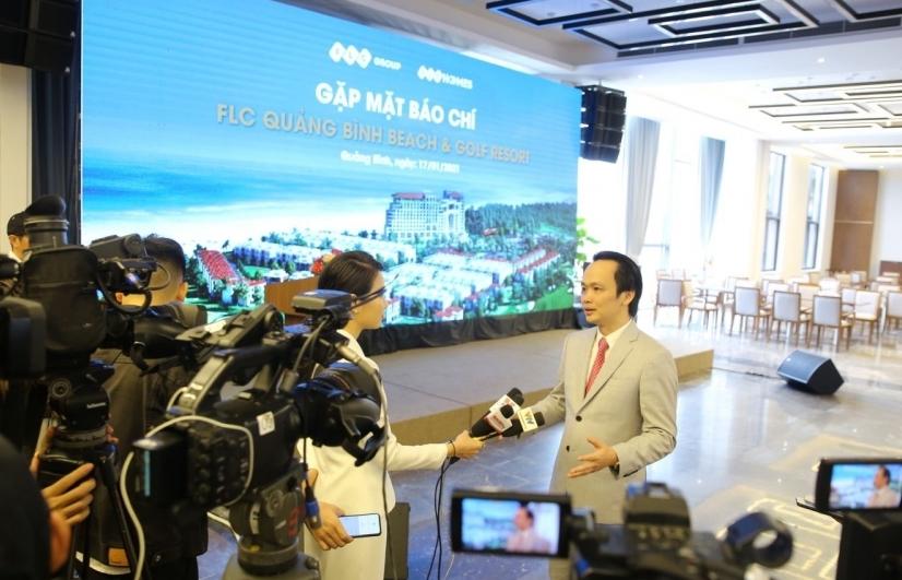 Tỷ phú Trịnh Văn Quyết: FLC Quảng Bình sẽ có biệt thự triệu đô