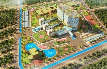 FLC khởi công bệnh viện Đa khoa Quốc tế 1.000 giường tại Thái Bình