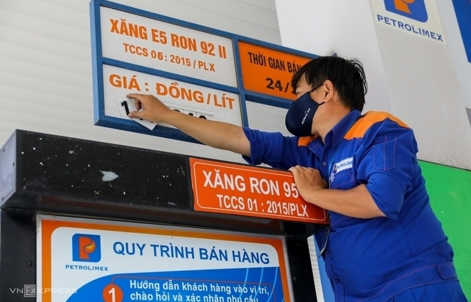 Giá xăng dầu đồng loạt tăng hơn 500 đồng/lít