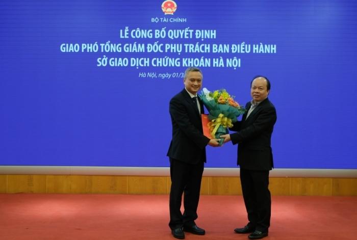 Ông Nguyễn Anh Phong được bổ nhiệm phụ trách Ban điều hành HNX