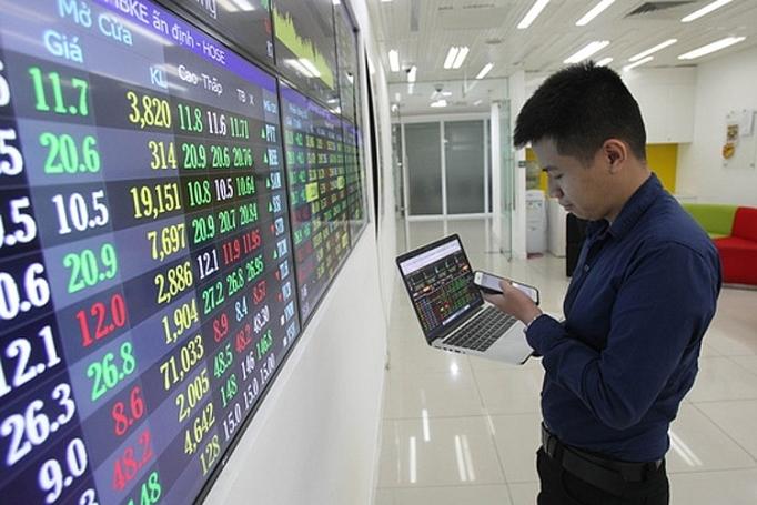 Cổ phiếu ngân hàng giúp VN-Index duy trì phiên tăng điểm thứ 7 liên tiếp