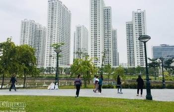 Giá bất động sản tại Hà Nội gần như đi ngang