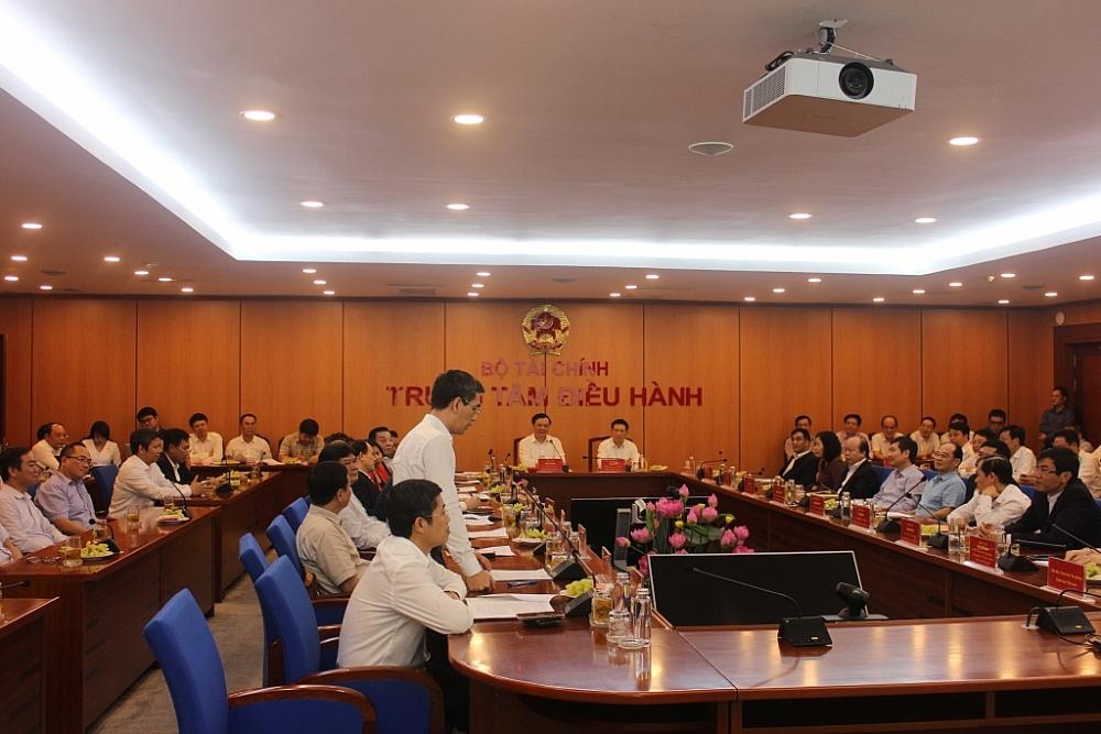 Bàn giao nhiệm vụ Bộ trưởng Bộ Tài chính cho đồng chí Hồ Đức Phớc