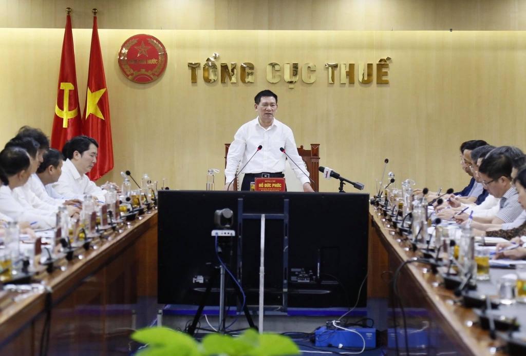 Bộ trưởng Hồ Đức Phớc: Tập trung, bám sát dự toán để hoàn thành tốt nhiệm vụ thu ngân sách